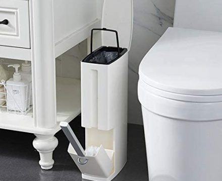 Top 15 Best Bathroom Trash Can With Lid ($10- $50) Review