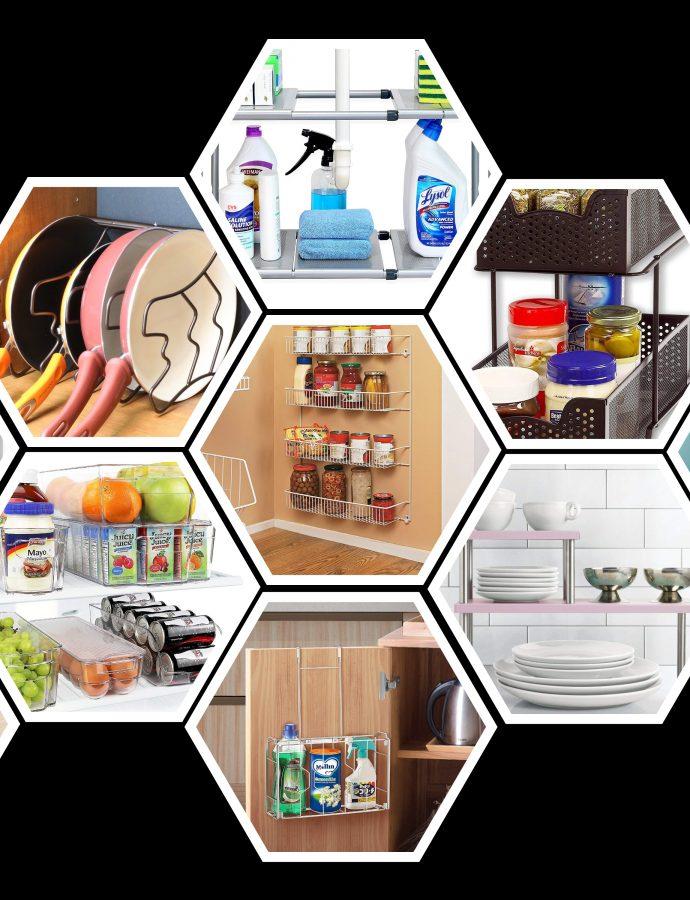 10 Best Amazon Kitchen Organizers Under $20 – $30 to declutter your Kitchen