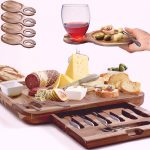 Best Wooden Cheese Board Square