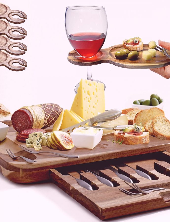 Best Wooden Cheese Board Square Review