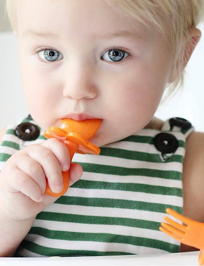 Best Toddler Utensils For Self Feeding Review 2021