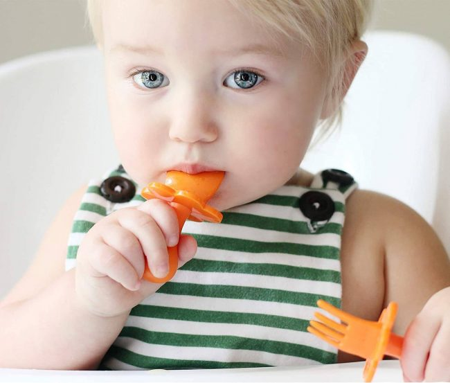 best baby utensil for self feed