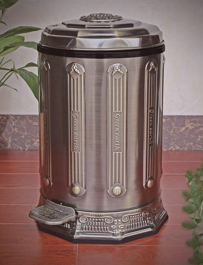 Best Vintage Antique Trash Cans for Decoration Review