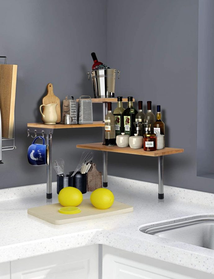 Best Countertop Corner Shelf Unit Review