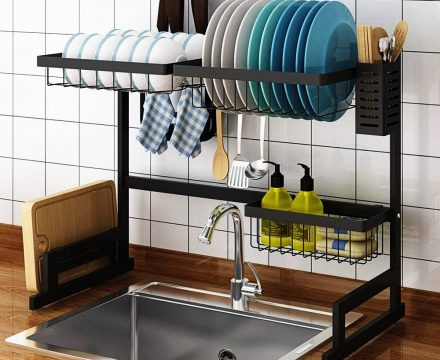 Best Over the Sink Dish Drying Rack 2021 Review
