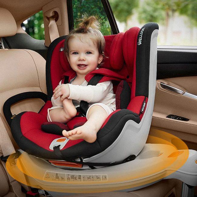 luxury baby car seat
