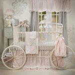 luxury baby crib skirt
