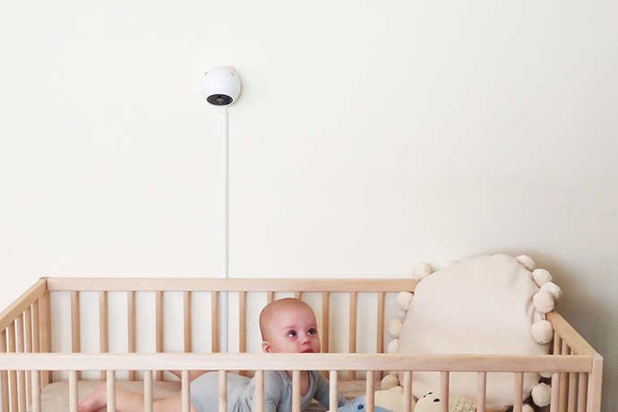 Protect and keep an eye on your baby through a smart baby monitor that cannot be hacked
