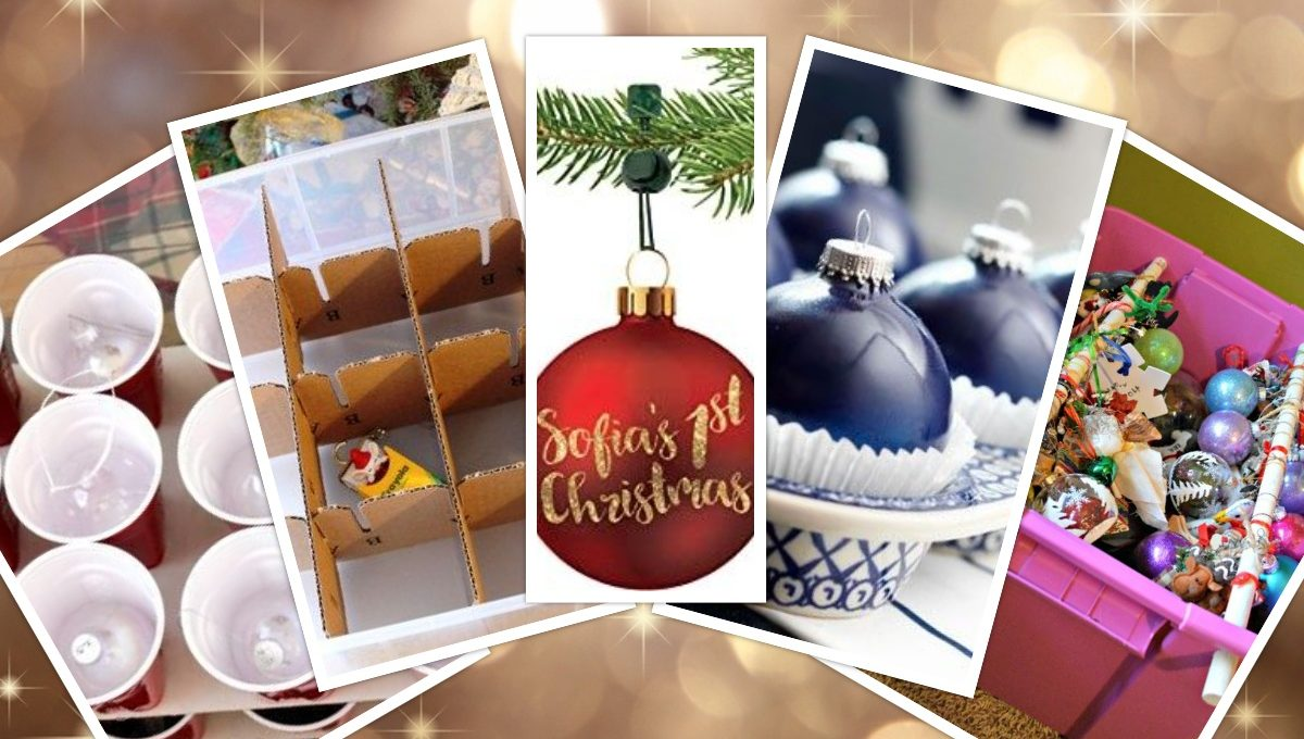 How to store Christmas Ornaments?