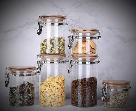 Best Glass Storage Jars for Kitchen Review