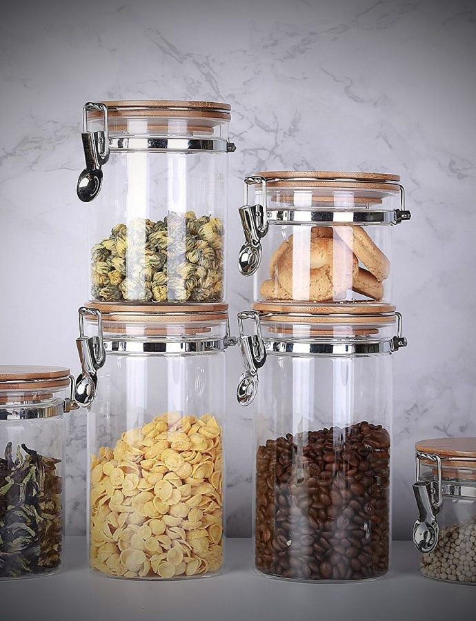 Best Glass Storage Jars for Kitchen Review
