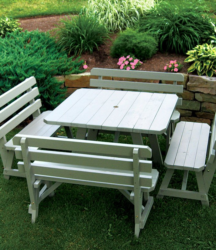 Stunning Outdoor Living Furniture|  The Charming Bench Company