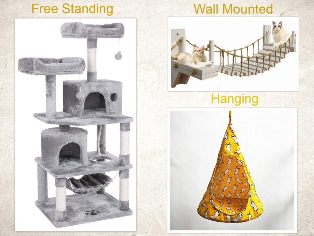 Types of Cat houses